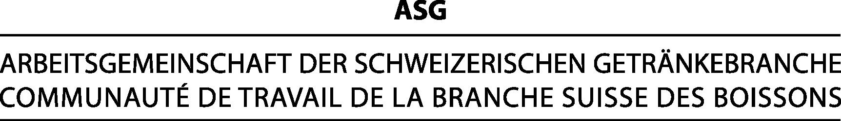 ASG Arbeitsgemeinschaft der Schweizerischen Getränkebranche